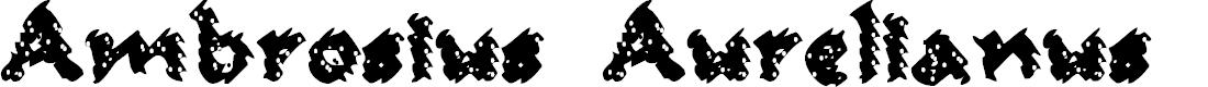 Preview image for Ambrosius Aurelianus Font