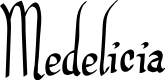 Preview image for Medelicia Font