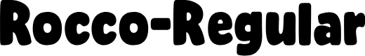 Preview image for Rocco-Regular Font
