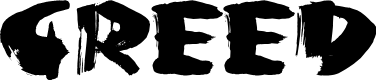 Preview image for Greed Font