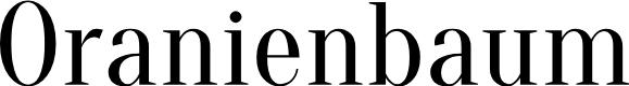 Preview image for Oranienbaum Font
