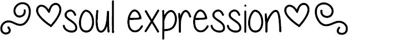 Preview image for expressions of the soul Font