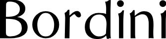 Preview image for Bordini (Unregistered) Font