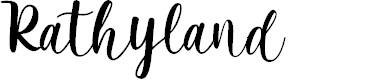 Preview image for Rathyland Font