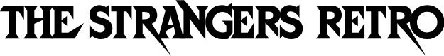 Preview image for StrangersRetro Font