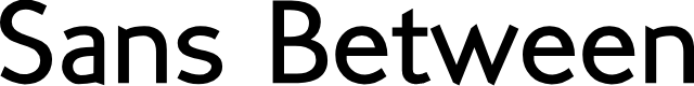Preview image for SansBetween Font