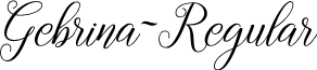 Gebrina-Regular