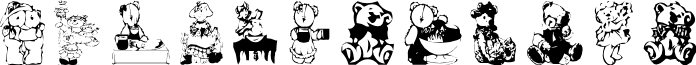 AEZbears font