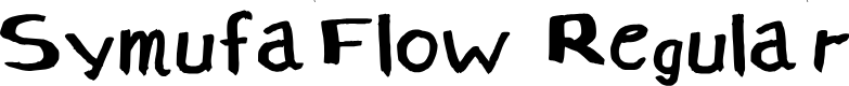 Preview image for SymufaFlow Regular Font