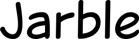 Preview image for Jarble Font