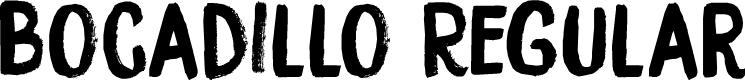 Preview image for DK Bocadillo Regular Font