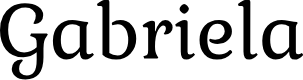 Preview image for Gabriela Font
