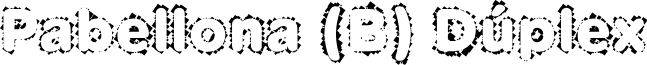 Pabellona (B) Dúplex