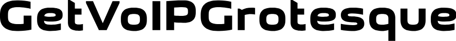 Preview image for GetVoIPGrotesque Font