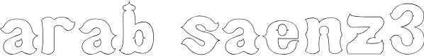 Preview image for arab saenz3 Font