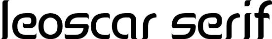 Preview image for Leoscar Serif Font