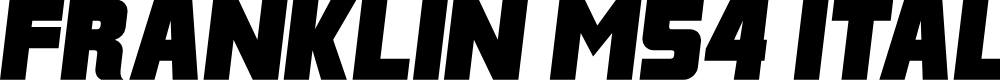 Preview image for Franklin M54 Italic