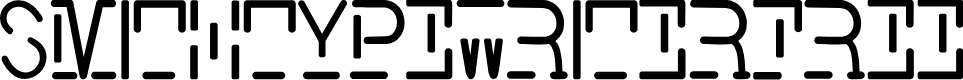 Preview image for Smith-TypewriterFree Font