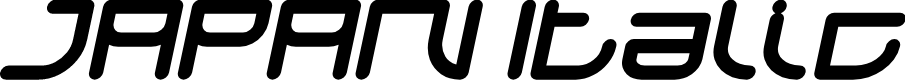 Preview image for JAPAN Italic