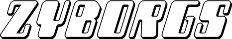 Preview image for Zyborgs 3D Italic
