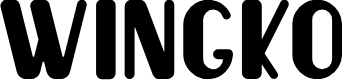 Preview image for Wingko Font
