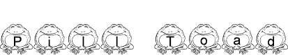 Preview image for LMS Pill Toad Font