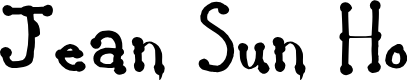 Preview image for Jean Sun Ho Bold Font