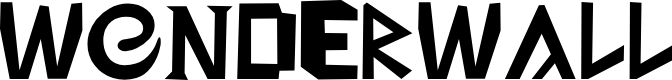 Preview image for Wonderwall Font