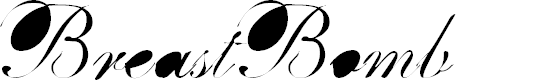 Preview image for BreastBomb Font