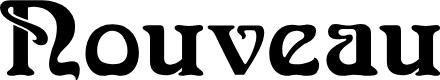 Preview image for NouveauFLF Font
