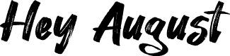 Preview image for Hey August Font
