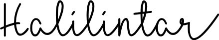Preview image for Halilintar Font