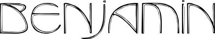 Preview image for Benjamin Regular Font