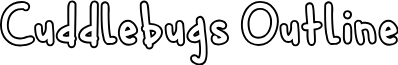 Cuddlebugs Outline