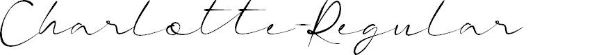 Preview image for Charlotte-Regular Font