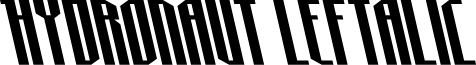 Hydronaut Leftalic