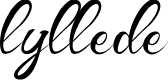 Preview image for Lyllede Font