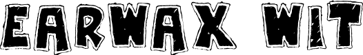 Preview image for Earwax Wit Font