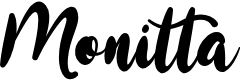 Preview image for Monitta Font