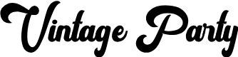 Preview image for Vintage Party FreeVersion Font