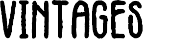 Preview image for Vintages Font