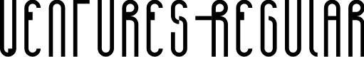 Preview image for Ventures-Regular Font