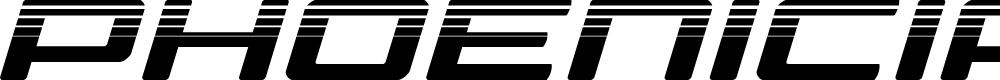 Preview image for Phoenicia Halftone Italic Italic