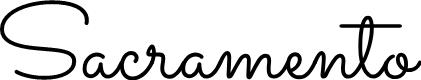 Preview image for Sacramento Font