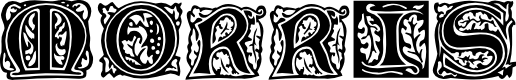 Preview image for Morris Initials Font
