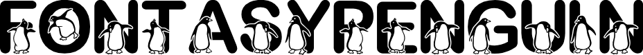 Preview image for Fontasy Penguin Font