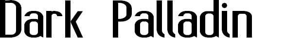 Preview image for Dark Palladin Font