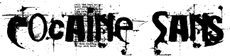 Preview image for Cocaine Sans Font