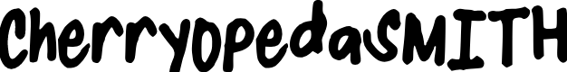 Preview image for CherryOpedaSMITH Font