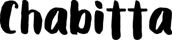 Preview image for Chabitta Font